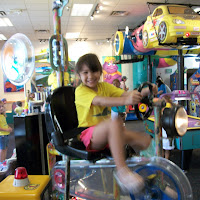1st Summer Trip to Chuck E. Cheese