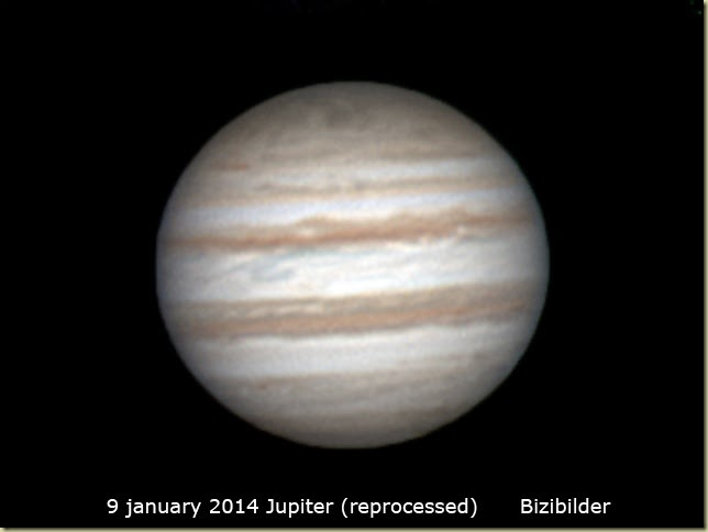 9 Jan 2014 Jupiter reprocess