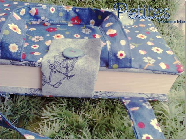 capa para livro cupcake azul 02