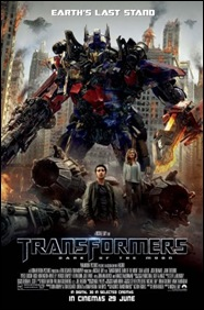 Transformers - Dark of the Moon - poster