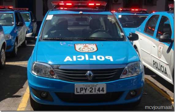 Renault Logan Sedan voor politie Brazilie 02