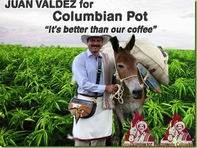 Juan Valdez for Colombian Pot Assn. Hoping to cash in_4aa04d_3445910