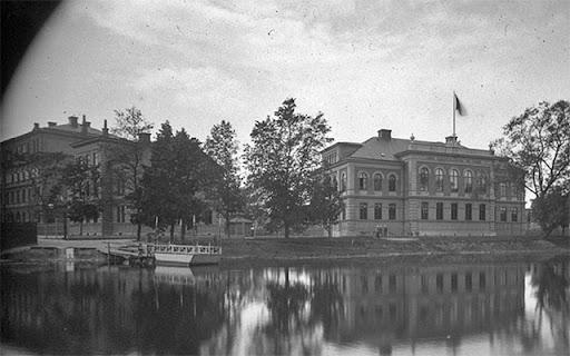 färga mellan Linnegatan och S:t Johannesgatan 1890