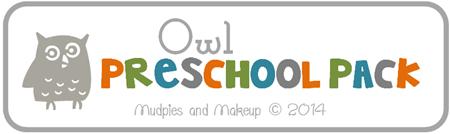 Free Owl Preschool Printables