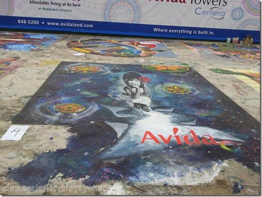 2nd Leg of Avida's 3D Street Painting Finalist
