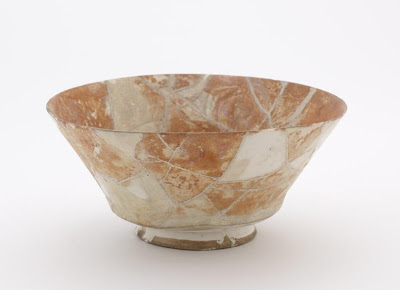 Bowl | Origin:  Iran | Period: 18th century? | Details:  Not Available | Type: Stone-paste decorated with glaze | Size: H: 9.8  W: 21.1  cm | Museum Code: F1917.235 | Photograph and description taken from Freer and the Sackler (Smithsonian) Museums.