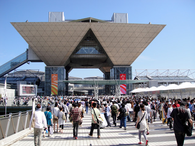 comiket at tokyo big sight - world's largest comic book fair in Tokyo, Tokyo, Japan