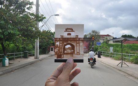 """Ấn tượng Việt Nam """"xưa và nay"""" qua bộ ảnh lồng trong ảnh, Phóng sự ảnh"""
