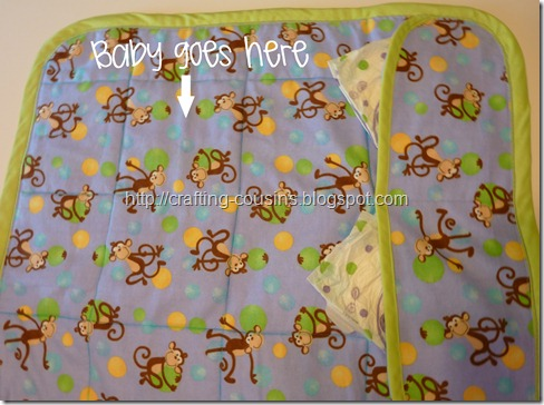 quilted changing pad (20.5)