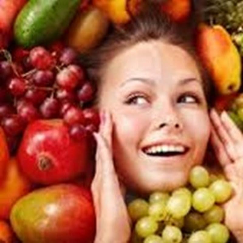 Alimentação influi no bem estar da pele