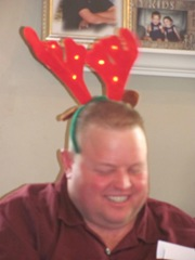 Christmas Holiday 12.23.12 Tommy with antlers on