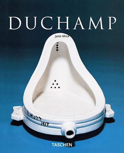 The ever-so-playful Marcel Duchamp.