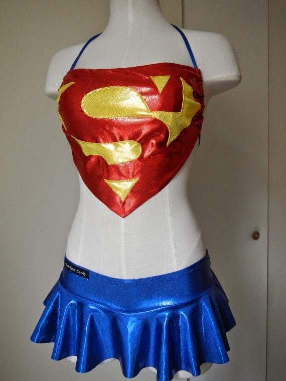 Superman Swimsuit from Sci Feye Candy