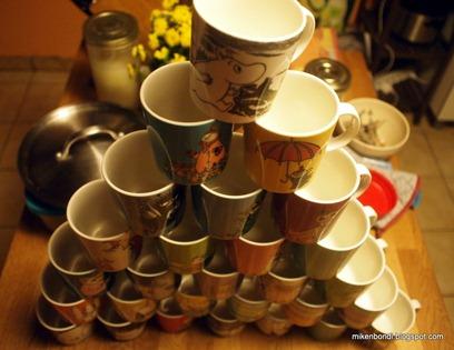 Moomin mug pyramid (2)