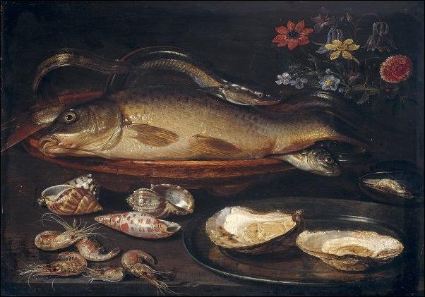 Clara Peeters, Nature morte aux huîtres
