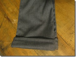 handmade gray dress pants for a preschool boy (9)