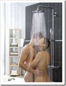 Juegos en la ducha