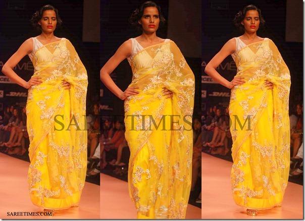 Bhairava_Jaikishan_Yellow_Shimmer_Sari
