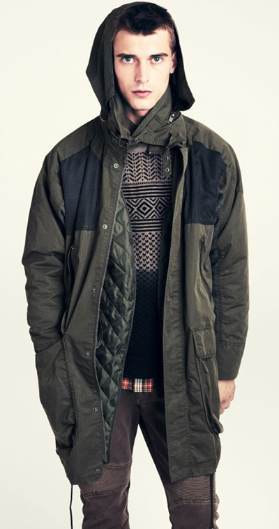 Clément Chabernaud @ Wilhelmina for H&M F/W 2011-12 lookbook