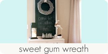 sweet gum wreath