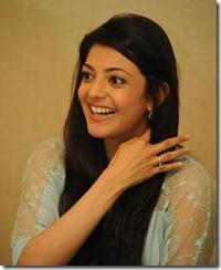 Actress Kajal Agarwal Cute Photos at Sir Vacharu Movie Interview