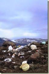 Lixo nos Andes - Agosto 2012