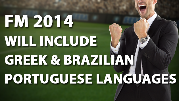 FM14 Greek Brazilian Portuguese languages