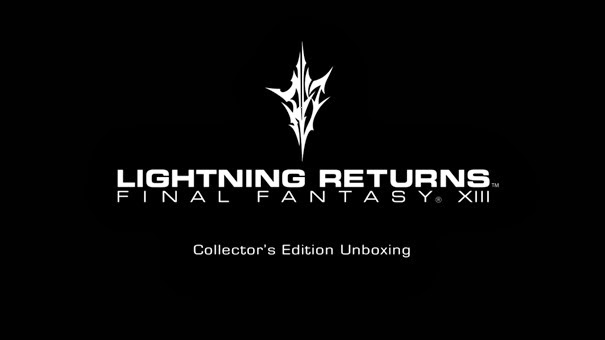 Unboxing de Lightning Returns: Final Fantasy XIII