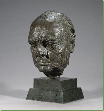 churchill bust returned to britain