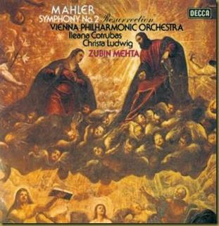 Mahler 2 Mehta Decca vinilo