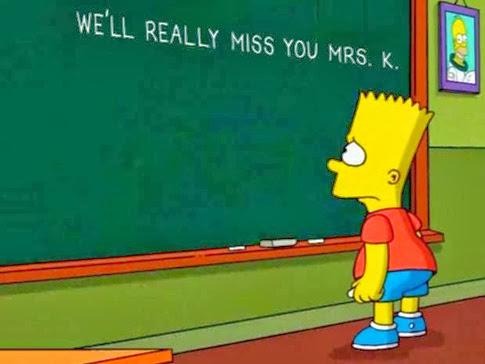 Por qué muere la señorita Edna Krabappel en Los Simpson