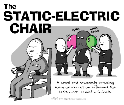 static-electric-chair