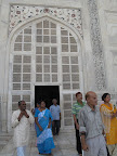 Mausoleum entrance
