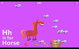 Screenshot of First Alphabet HD Lite