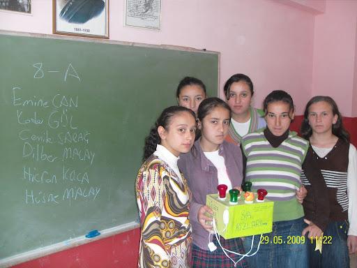 Kuşağı çamlı ilköğretim okulu teknoloji ve tasarım dersi