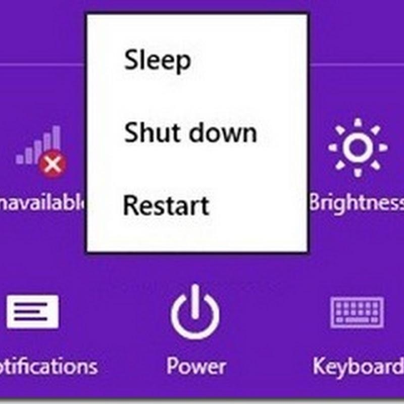 Khôi phục chế độ Hibernate (ngủ đông) trong Windows 8