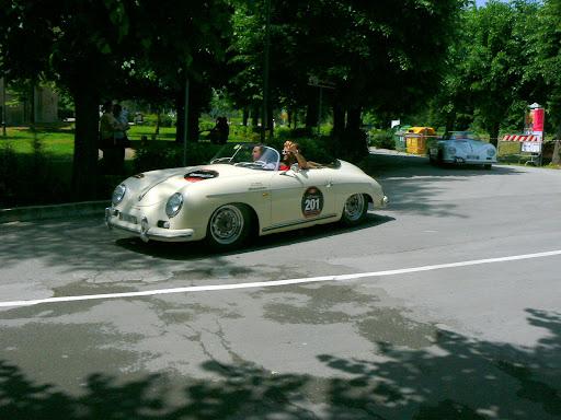a Porsche 356 speedster 1500