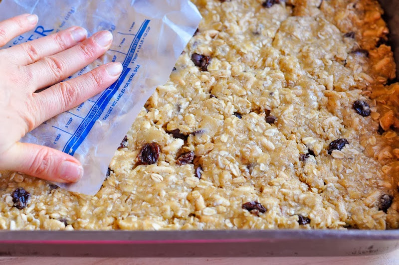 gluten free maple granola bars-1100