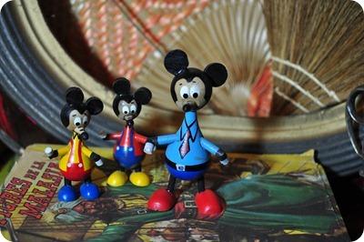 Mickey y sus sobrinos