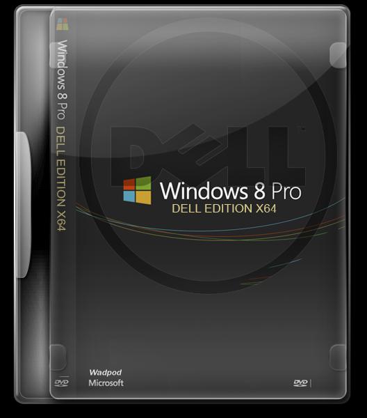Windows 8 Dell OEM [English/Pack Idiomas Incluido] [x64-bits]