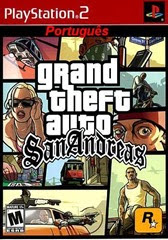 Grand Theft Auto - San Andreas - Rom em Português - Ps2