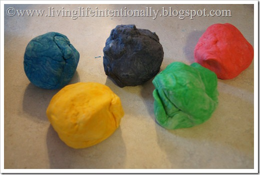 make colored pretzel dough