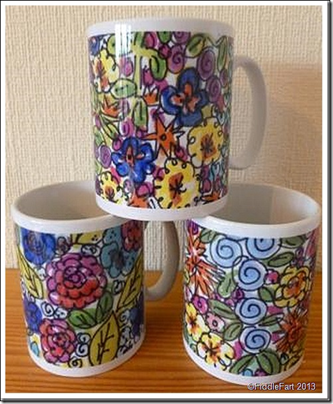 fiddle faRT MUGS