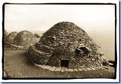Beehive huts, Skellig Michael