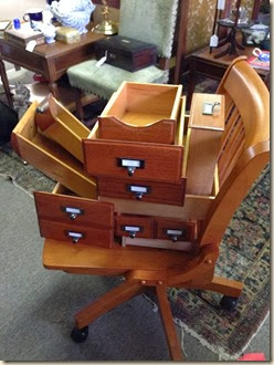drawers & chair