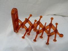 accordion tie rack