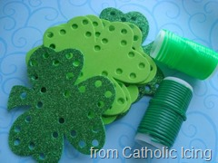Catholic Icing - Shamrock Lacing