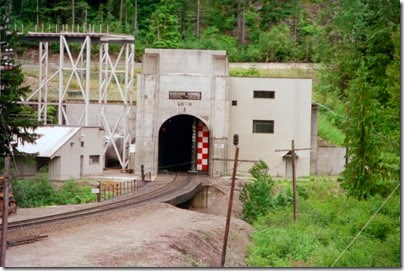 259159955 Door Opening at the East Portal of the Cascade Tunnel at Berne, Washington in 2002