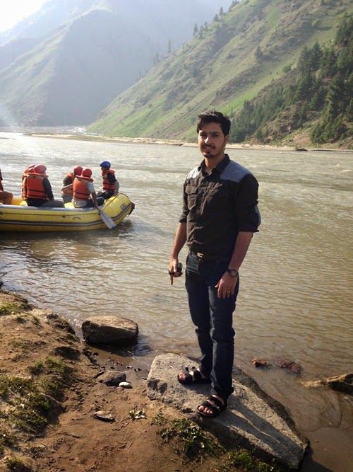 boating at Naran