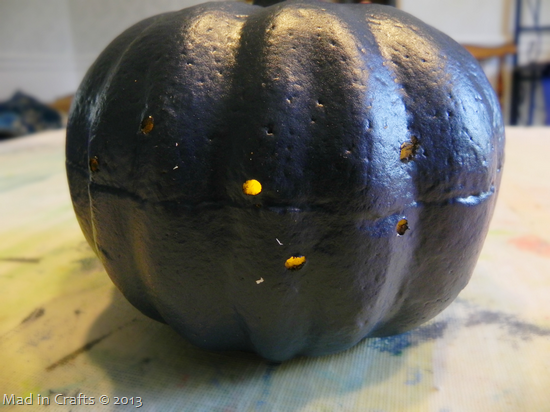 Drilled Constellation Pumpkins - check for light